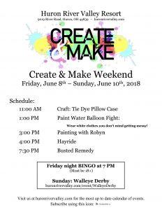 Create & Make Weekend